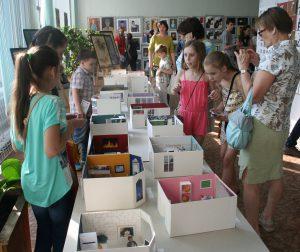 Учащиеся студии «Контур» представили свои проекты на выставке