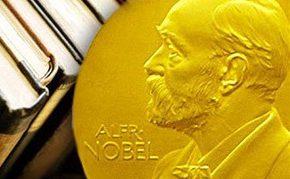 Все о Нобелевской премии и ее лауреатах на книжной выставке